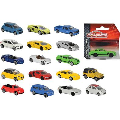 Majorette Street Cars - Assorted