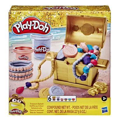 Play-Doh Gold Collection Treasure Splash