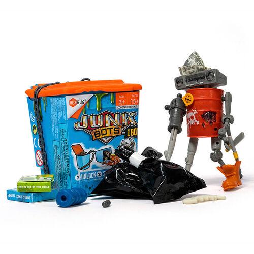 Hexbug Junkbots Trash Bin Single - Assorted
