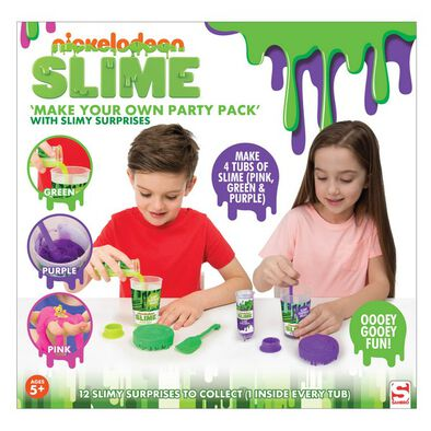 Nickelodeon Create Your Own Slime Party Pack