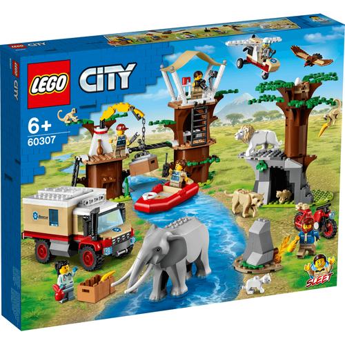 LEGO City Wildlife Rescue Camp 60307
