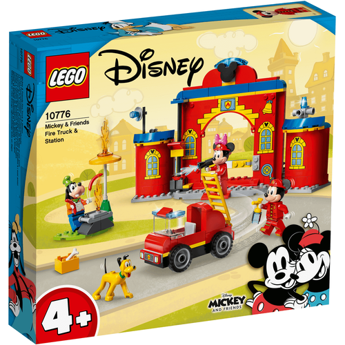 LEGO Mickey And Friends Mickey & Friends Fire Truck & Station 10776