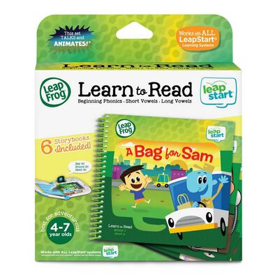 LeapFrog LeapStart 3D Book Set Learn To Read Set 1