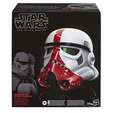 Star Wars The Black Series Incinerator Stormtrooper Electronic Helmet