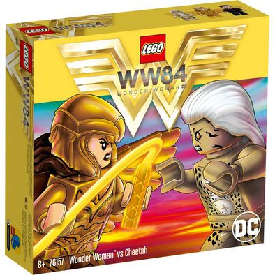 LEGO Wonder Woman vs Cheetah 76157