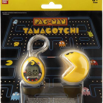 Tamagotchi x Pacman Nano Yellow With Case