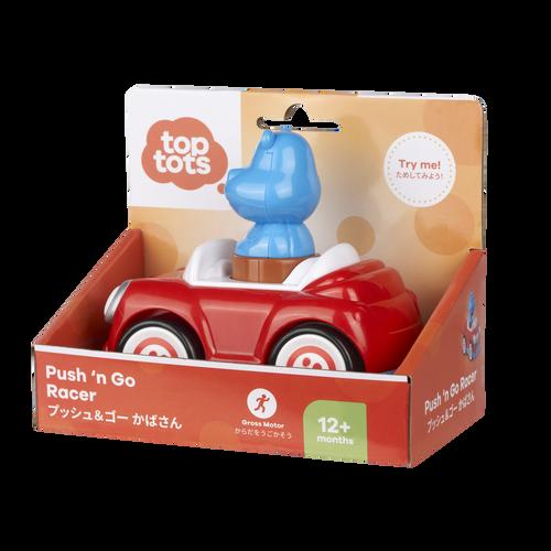 Top Tots Push N Go Racer Hippo
