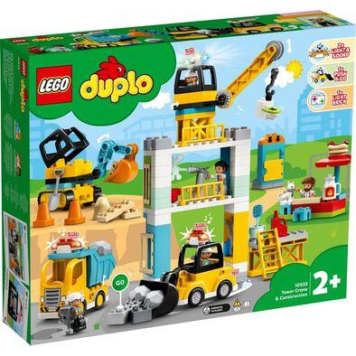LEGO Duplo Town Tower Crane & Construction 10933