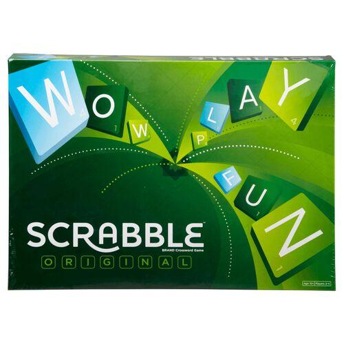 Scrabble Original Brand Crossword Game