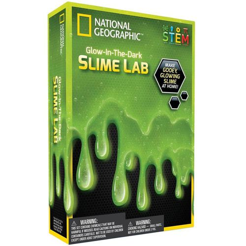 National Geographic Glow In The Dark Slime Lab