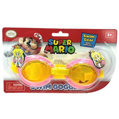Nintendo Super Mario Princess Peach Swim Goggles