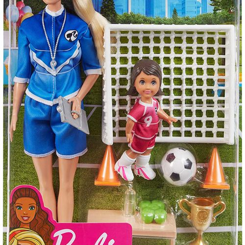 Barbie Careers Soccer Coach