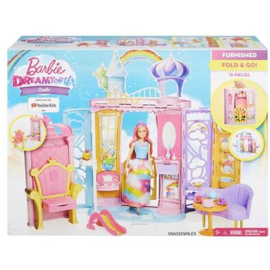 Barbie Collapsible Castle