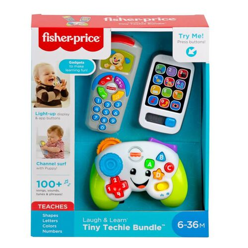 Fisher-Price Laugh & Learn Tiny Techie Bundle