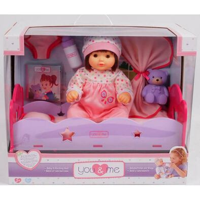 You & Me 14 Inch Baby In Bed