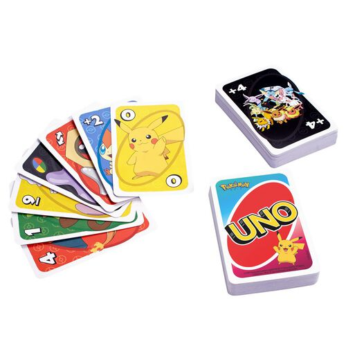 Uno Pokemon Cards