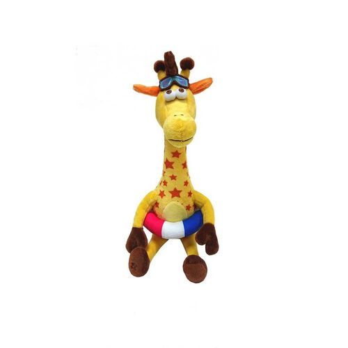 "Summer Vacation Geoffrey The Giraffe Toys""R""Us Mascot 13"" Soft Toy"