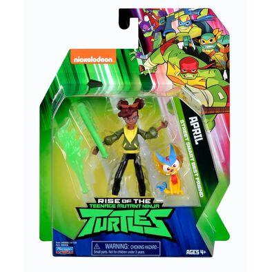Teenage Mutant Ninja Turtles April Street Smart Best Friend