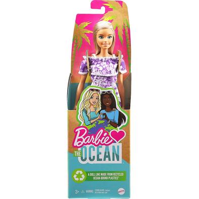Barbie Loves The Ocean Beach-Themed Doll Blonde