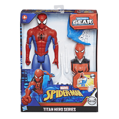 Marvel Spider-Man Titan Hero Series Blast Gear Spider-Man
