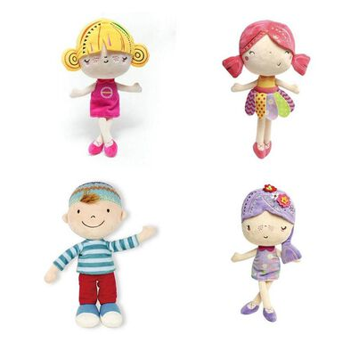 BRU Happy Girl/Boy Soft Toy - Assorted