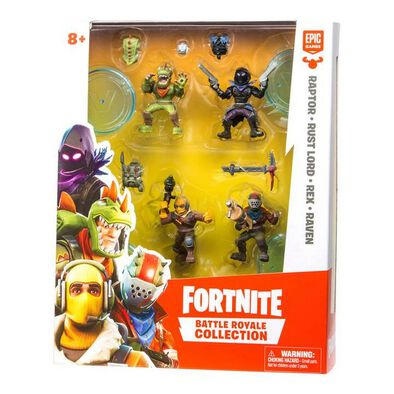 Fortnite Battle Royale Collection 2 Inch Figure Squad Pack - Assorted