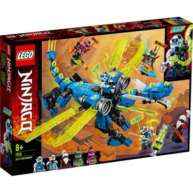 LEGO Ninjago Jay's Cyber Dragon 71711