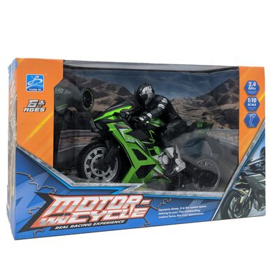 Motor-Cycle Real Racing Experience 1:10 R/C Sports Bikes - Assorted