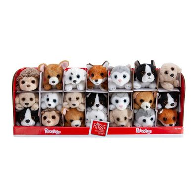 Animal Alley Petooties Soft Toy - Assorted
