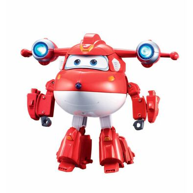 Super Wings Deluxe Transforming Supercharged Jett