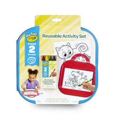 Crayola Reusable Activity Set