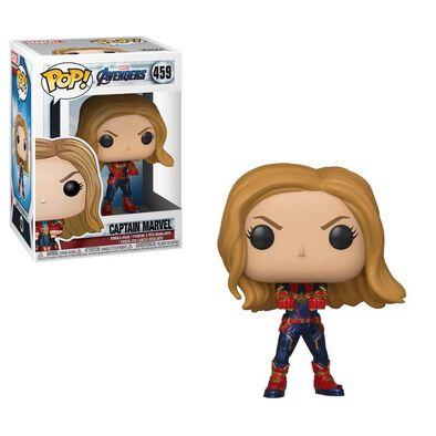 Pop! Marvel Avengers Endgame 459 Captain Marvel