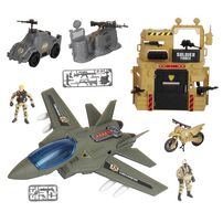 Soldier Force Bunker Air Attack Set