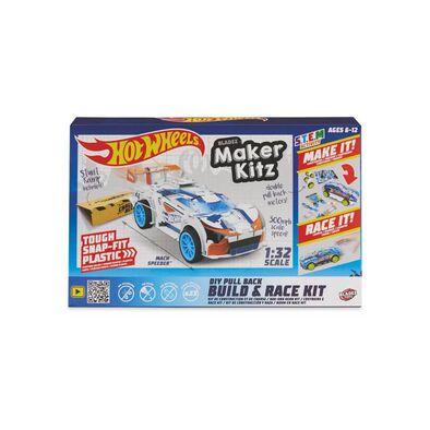 Hot Wheels Maker Kitz Single Car White - Assorted