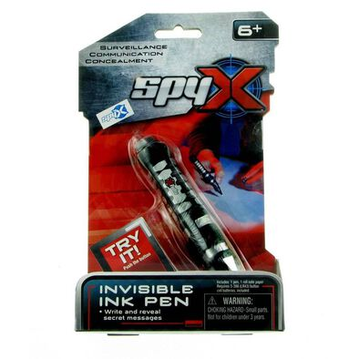 Spy X Invisible Ink Pen