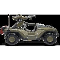Halo Deluxe Vehicle Warthog & Chief