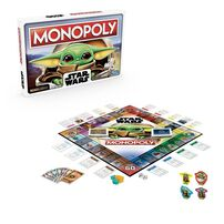 Monopoly: Star Wars The Child Edition Board Game For Kids And Families