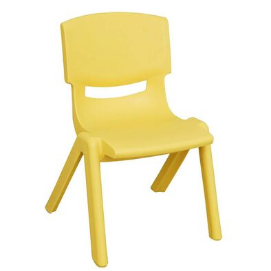 OCIE Deluxe Plastic Kid Chair Yellow