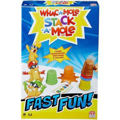 Fast Fun Whac-A-Mole Stack-A-Mole