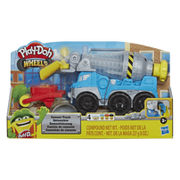 Play-Doh Wheels Cement Truck Toy with 4 Non-Toxic Play-Doh Colors