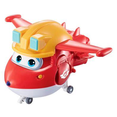 Super Wings Transforming Build-It Jett