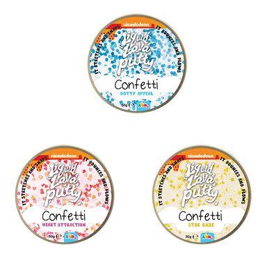 Nickelodeon Liquid Lava Putty Confetti - Assorted