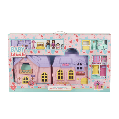 Baby Blush Fold N' Play Dream House