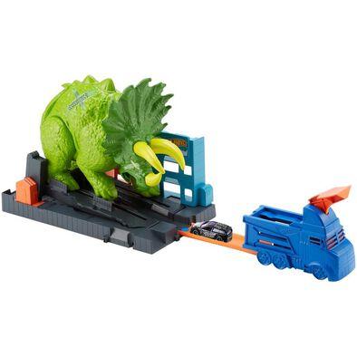 Hot Wheels Smashin' Triceratops Play Set