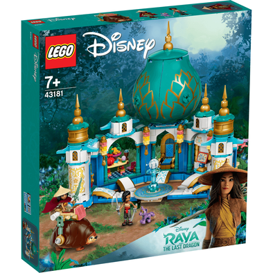 LEGO Disney Princess Raya And The Heart Palace 43181