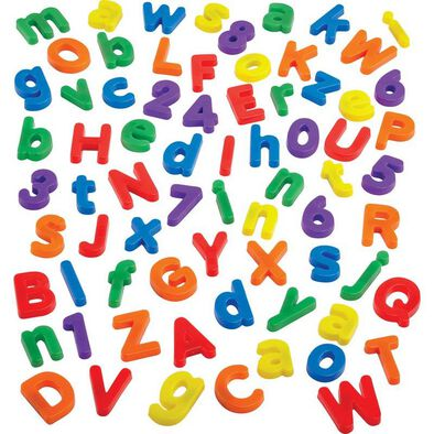 Universe of Imagination 72 Piece Magnetic Letters