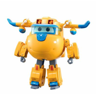 Super Wings Deluxe Transforming Supercharged Donnie