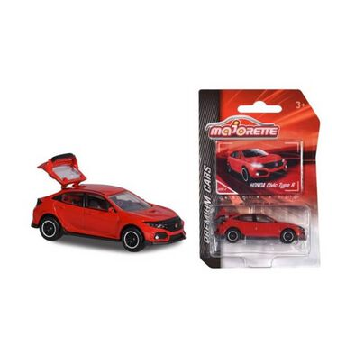 Majorette Premium Honda Civic Type R (Red)