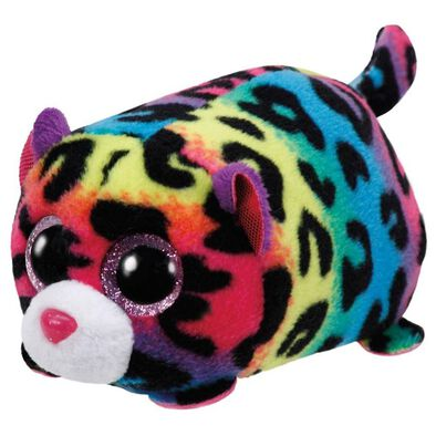 Ty Teeny 4 Inch Jelly The Multicolor Leopard