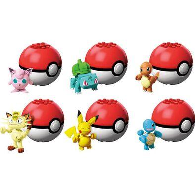 Mega Construx Pokemon Evergreen Poke Ball - Assorted